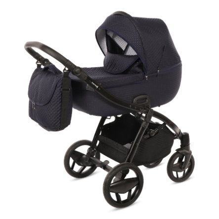 Knorr-Baby Passeggino duo Piquetto blu marine
