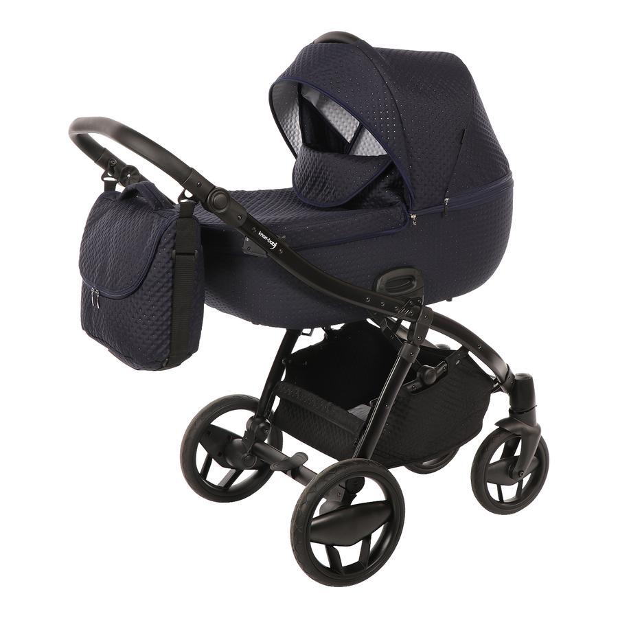 knorr-baby Kombikinderwagen Piquetto Marine-Blau