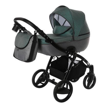 knorr-baby Kombikinderwagen Piquetto petrol-grau