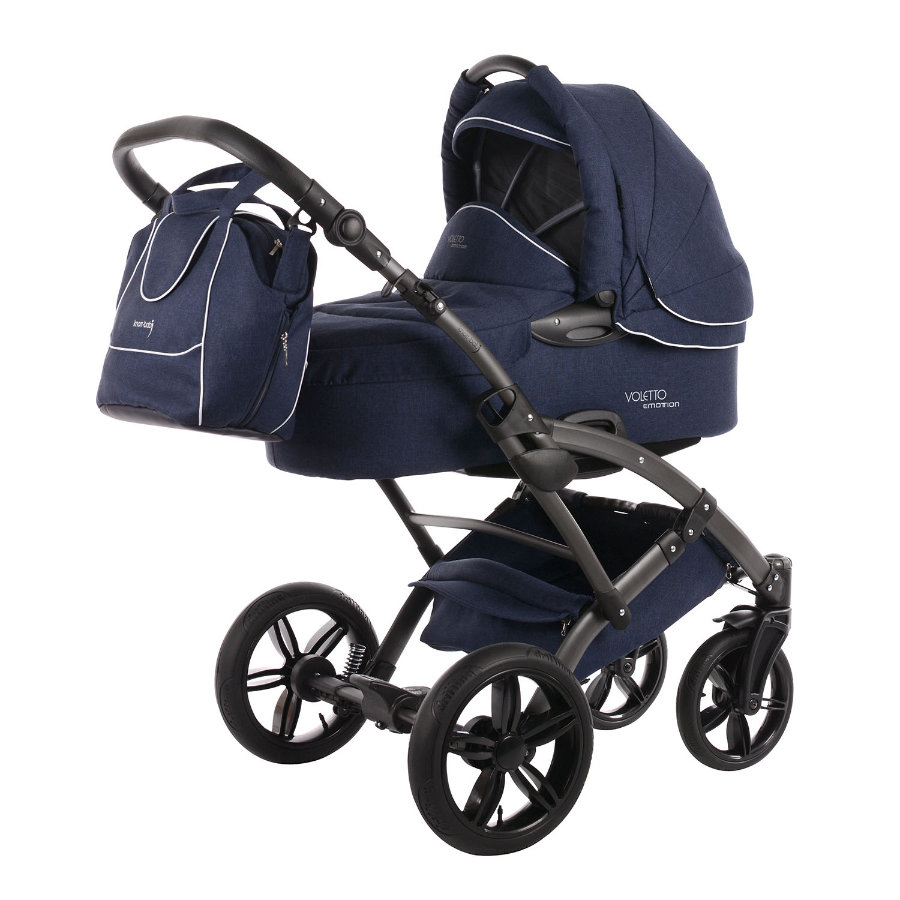 knorr-baby Kombikinderwagen Voletto Emotion night blue