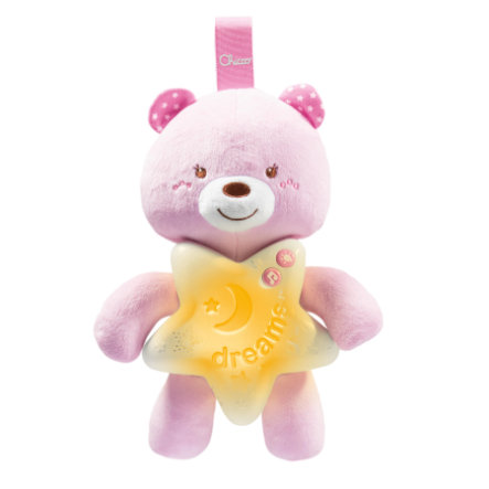 chicco Goodnight Bear rosa