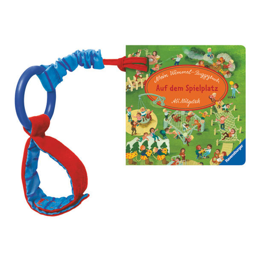 Ravensburger Mein Wimmel-Buggybuch: Auf dem Spielplatz