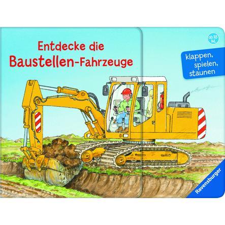 Ravensburger Entdecke die Baustellen-Fahrzeuge