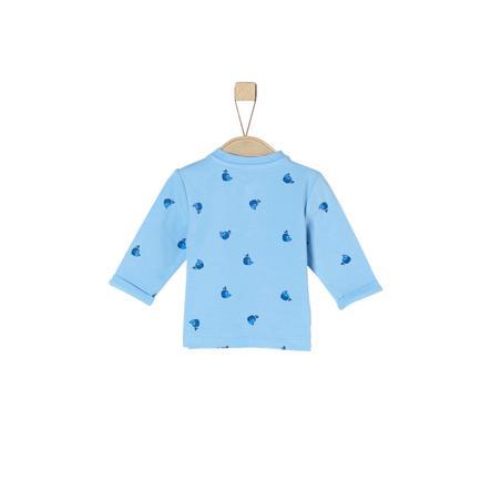 s.Oliver Koszulka z długim rękawem jasnoniebieska aop