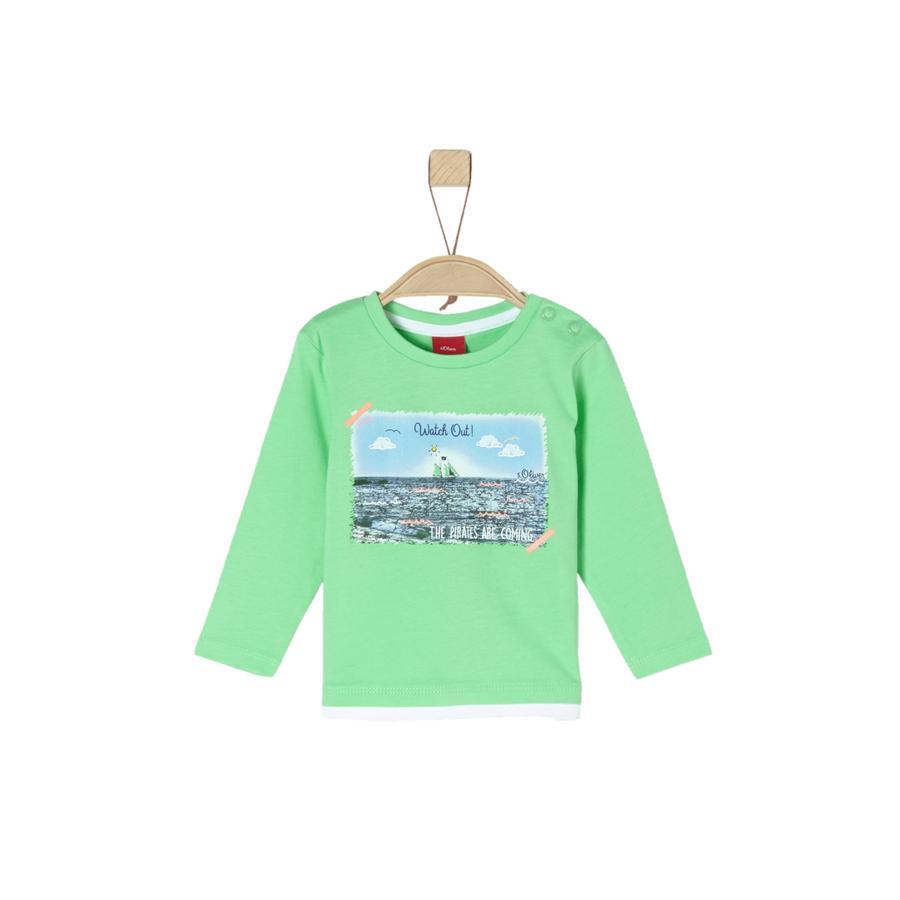s.Oliver Långärmad tröja green