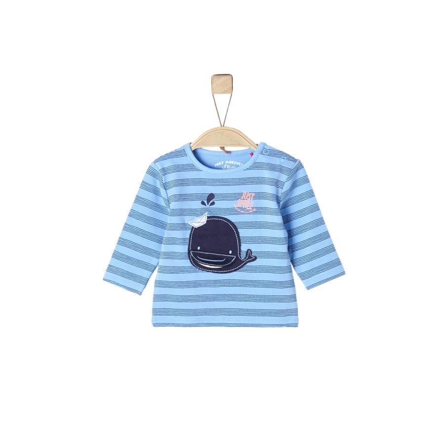 s.Oliver Chemise manches longues bleu clair aop