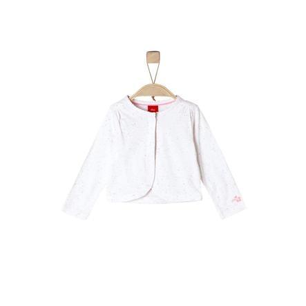 s.Oliver Långärmad tröja white melange