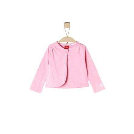 s.Oliver Girls Langarmshirt light pink melange