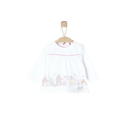 s.Oliver Koszula z długim rękawem w kolorze białym