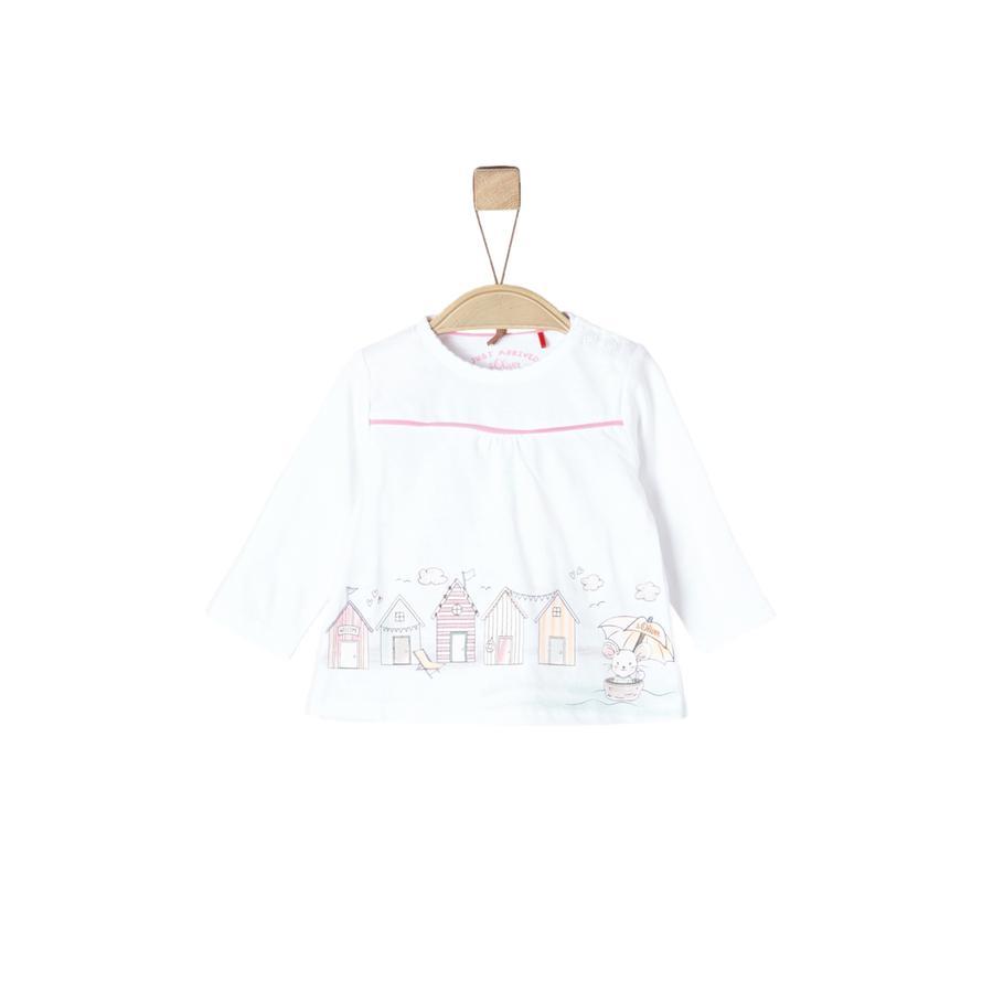 s.Oliver Shirt met lange mouwen wit