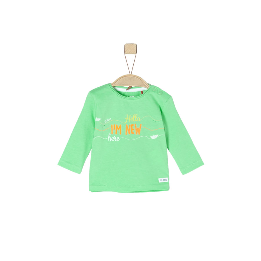 s.Oliver Chemise manches longues vert