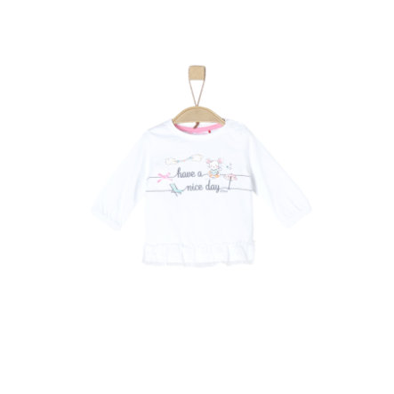 s.Oliver Camisa manga larga blanca