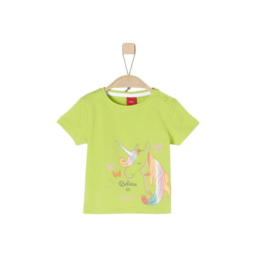s.Oliver T-skjorte lime