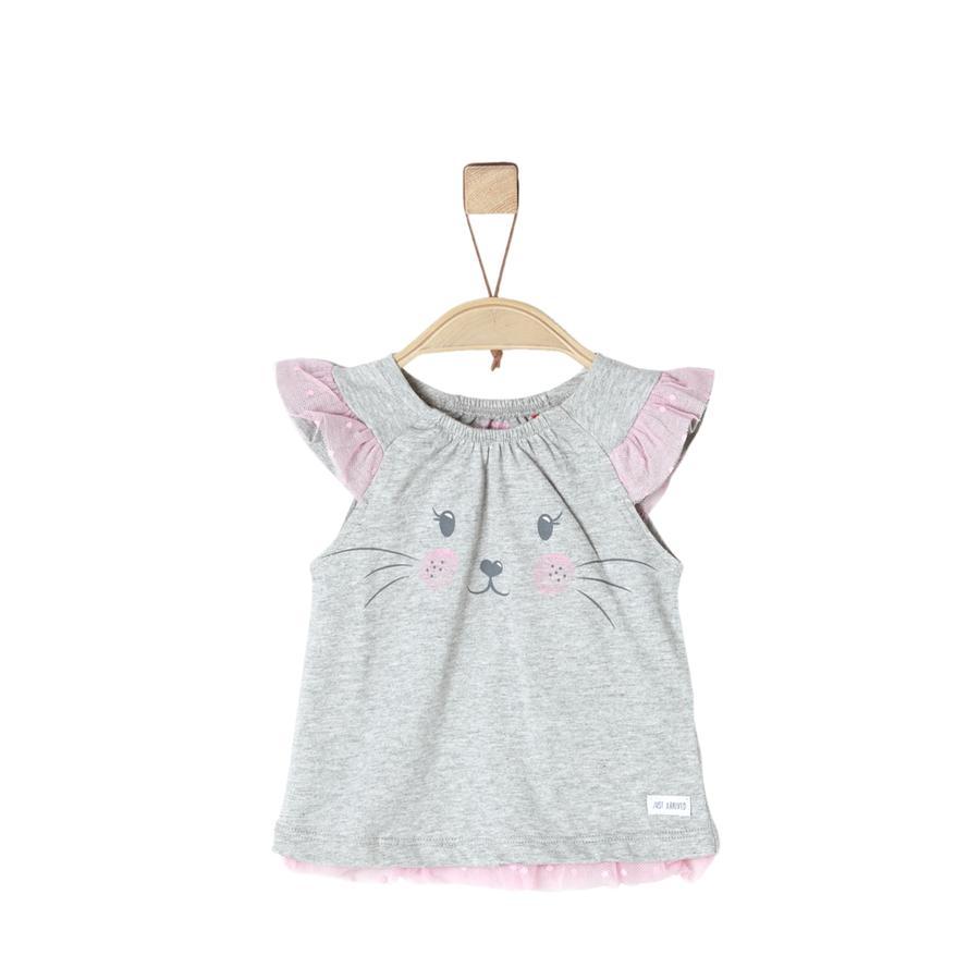 s.Oliver T-Shirt gris claro mélange