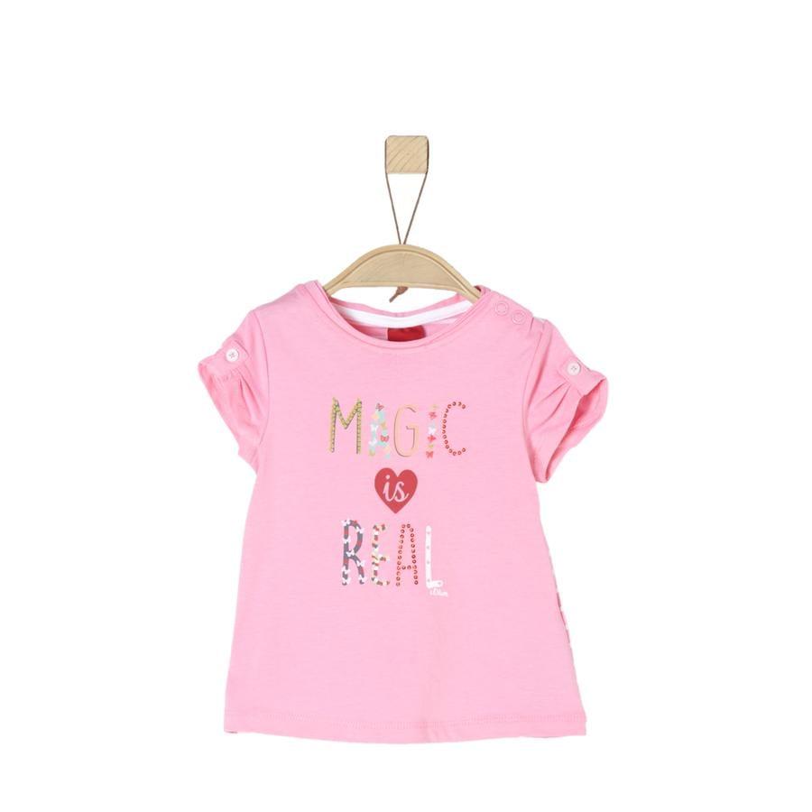 s.Oliver Girl T-Shirt jasnoróżowy