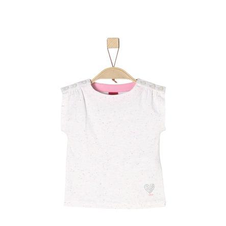 s.Oliver T-Shirt witte melange