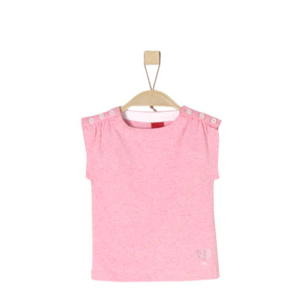 s.Oliver Girl s T-Shirt jasnoróżowy melange