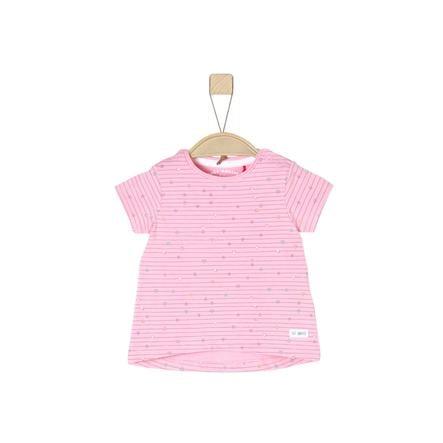 s.Oliver T-Shirt light pink stripes