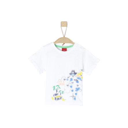 s.Oliver T-Shirt blanc