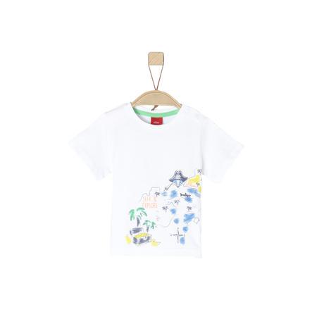 s.Oliver T-Shirt blanco