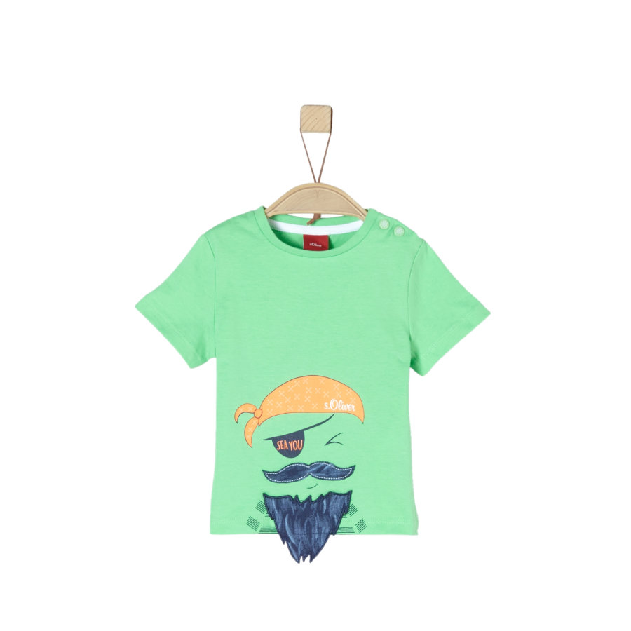 s.Oliver T-Shirt verdoyant
