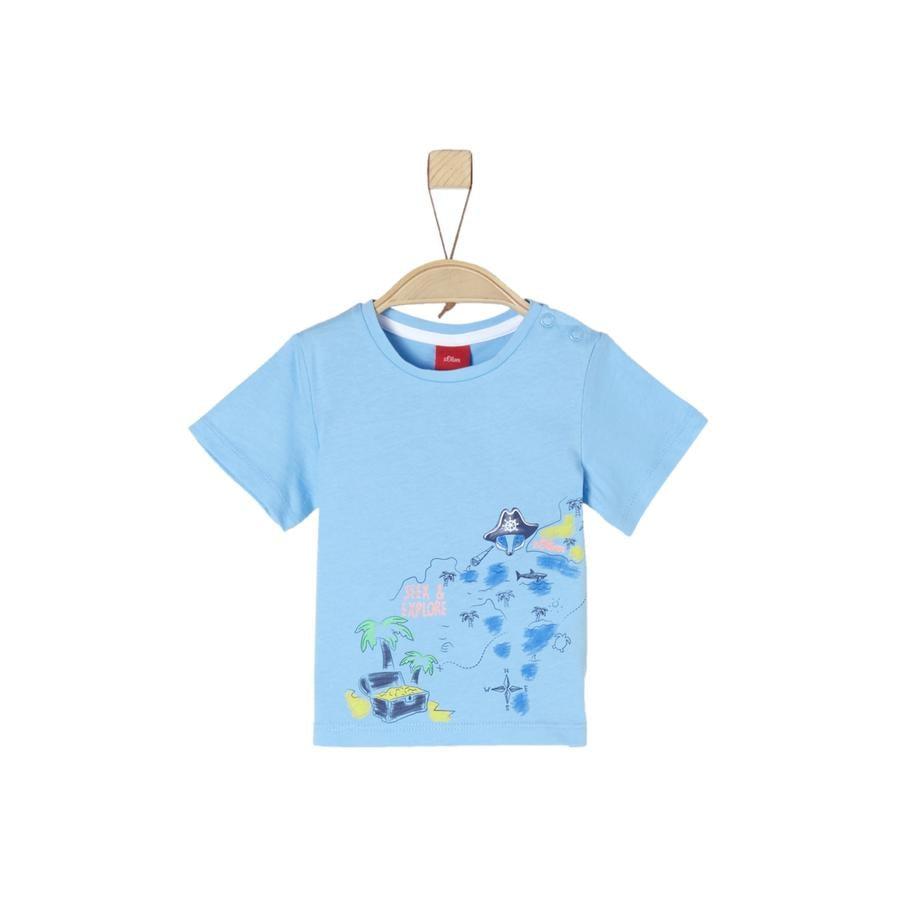s.Oliver T-Shirt bleu clair