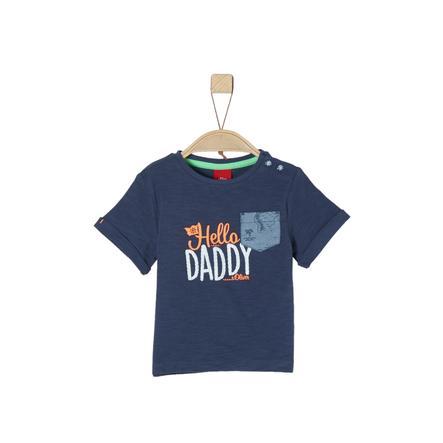 s.Oliver T-Shirt ciemnoniebieski