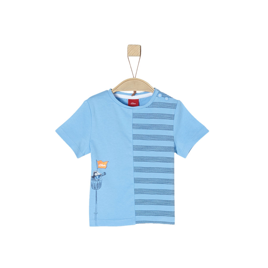 s.Oliver T-skjorte lyseblå