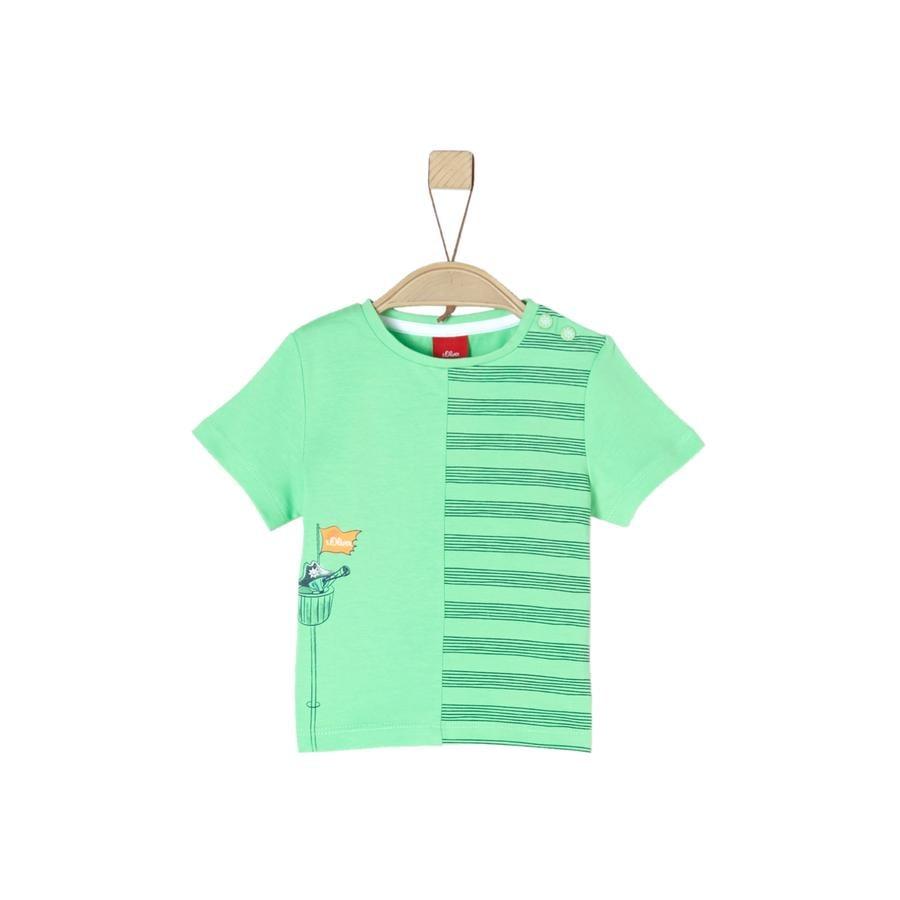 s.Oliver T-Shirt zieleń