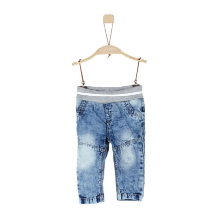 s.Oliver Hose blue denim non stretch