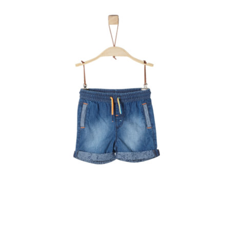 s.Oliver Shorts blue denim non stretch