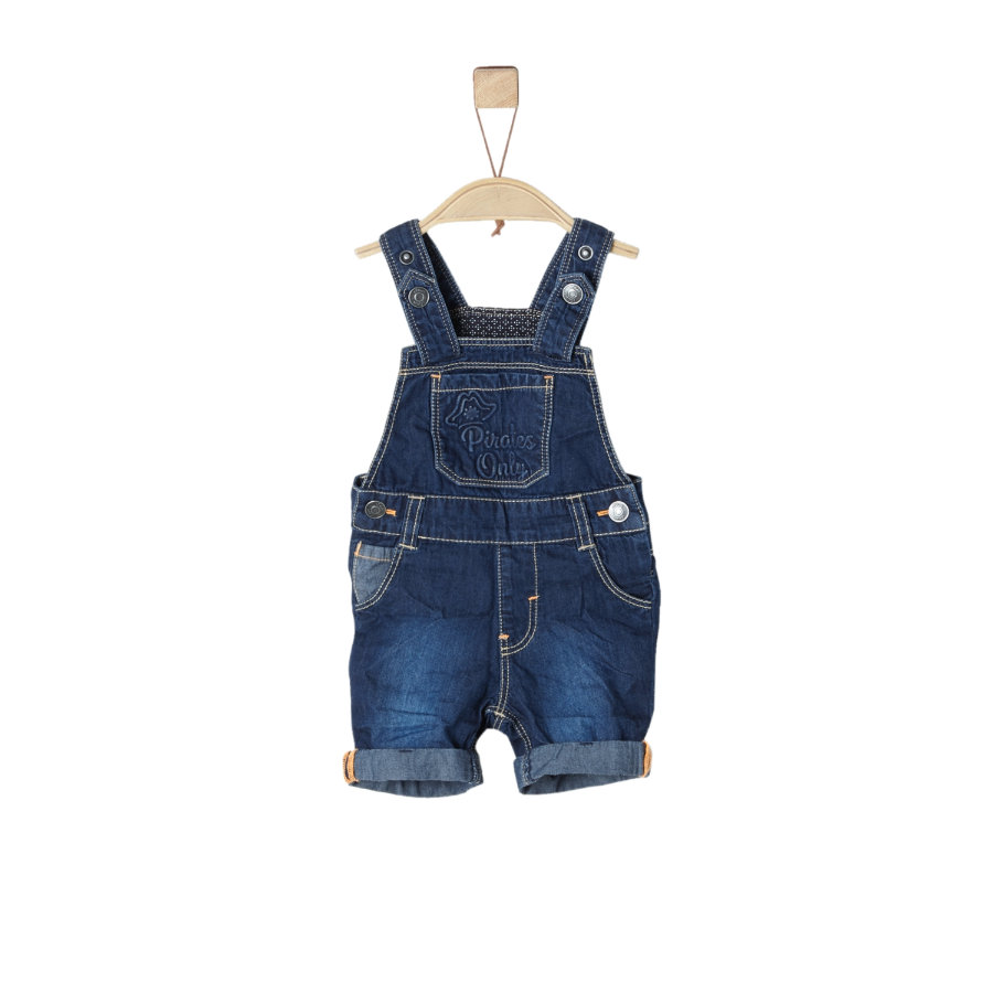 s.Oliver Latzhose blue denim non stretch