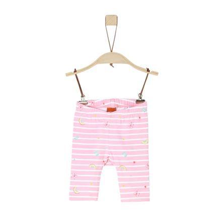 s.Oliver Leggings lys rosa flerfarget ed