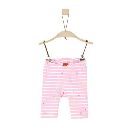 s.Oliver Leggings rosa chiaro multicolore