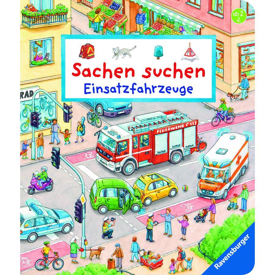 Ravensburger Sachen suchen: Einsatzfahrzeuge