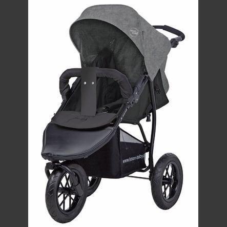 knorr baby sportwagen joggy s melange hellgrau. Black Bedroom Furniture Sets. Home Design Ideas