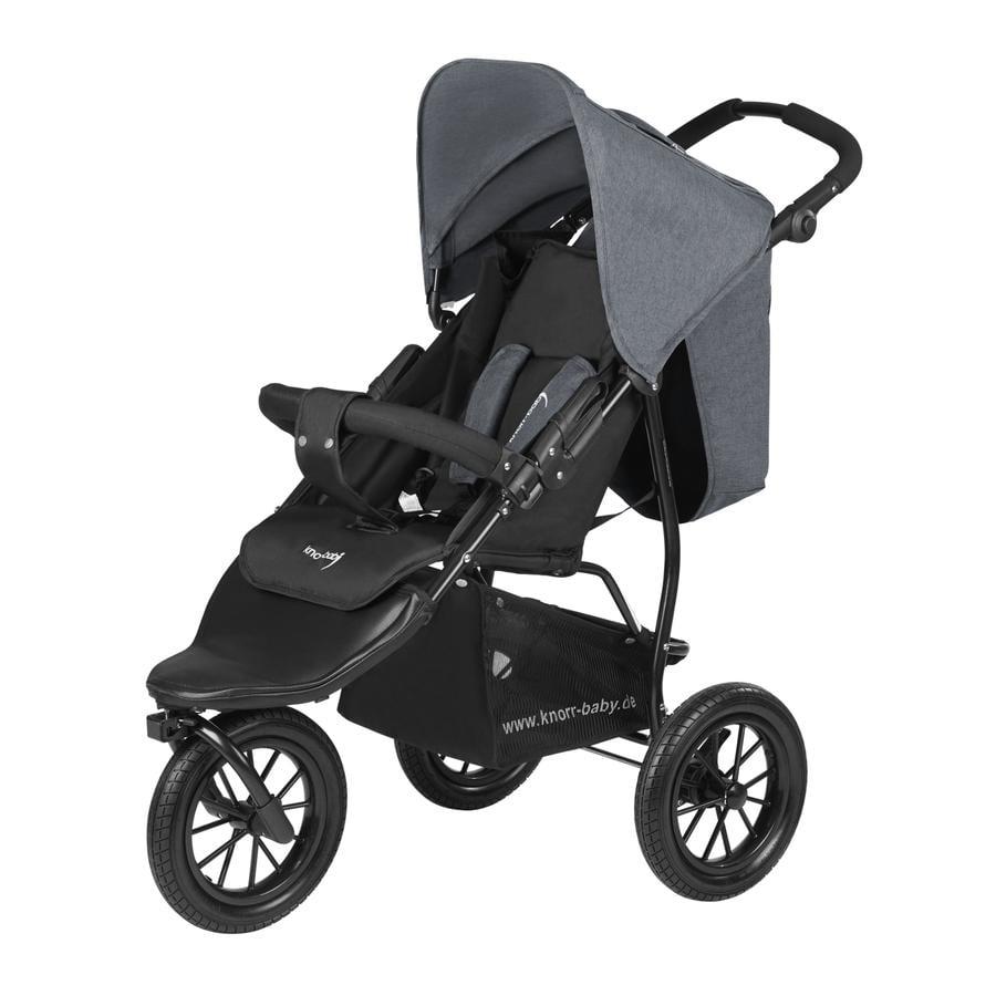 knorr-baby Sportwagen Joggy S Melange dunkelgrau