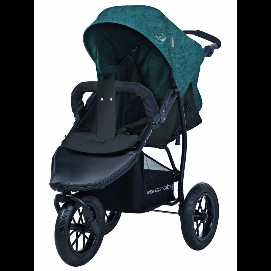 knorr-baby Joggy S 2017 Melange petrol