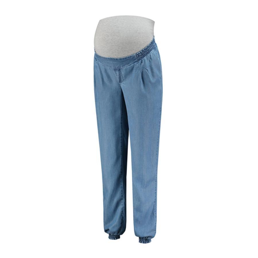 LOVE2WAIT Spodnie ciążowe Tencel Stone Wash Wash