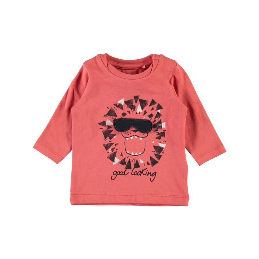 name it Chlapecké tričko s dlouhým rukávem Gamin spiced coral