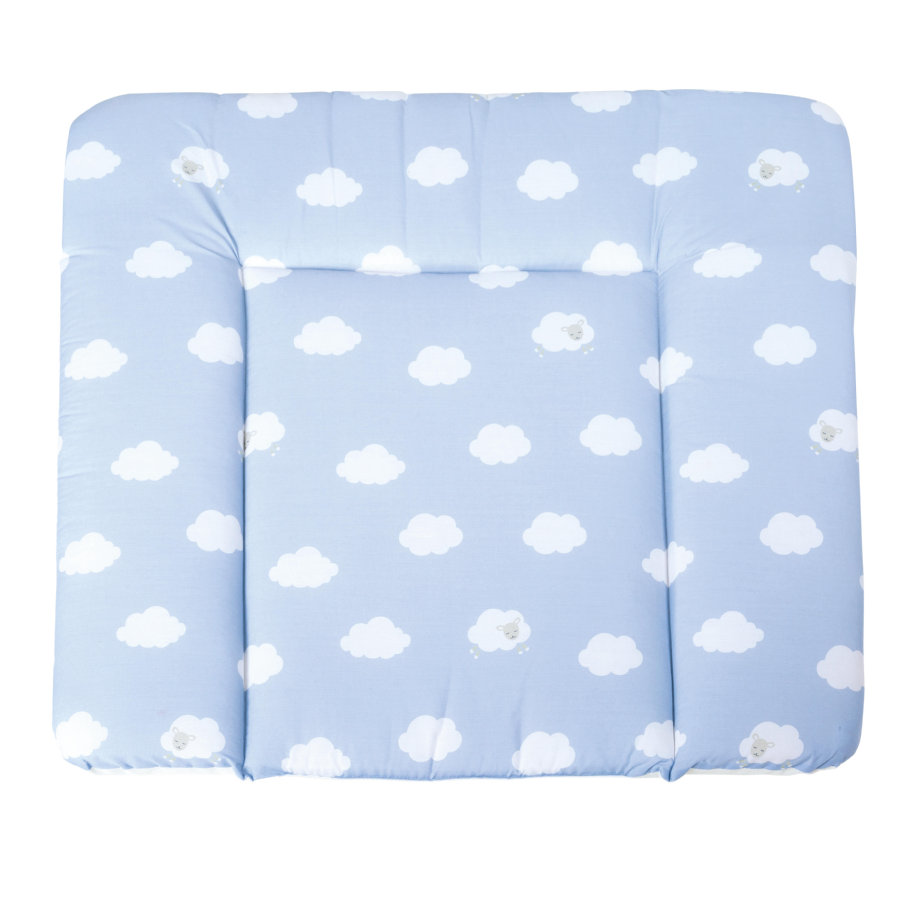 ROBA Cambiador soft pequeño Nube azul 85 x 75 cm