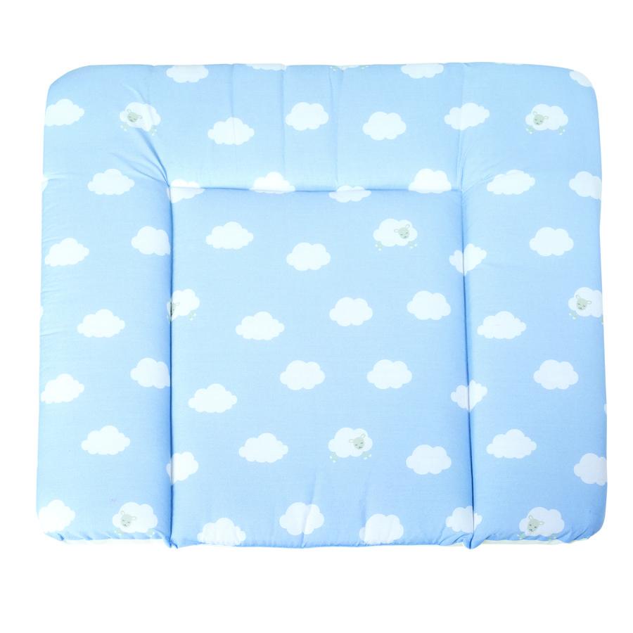 roba Matelas à langer souple petit nuage bleu, 85 x 75 cm