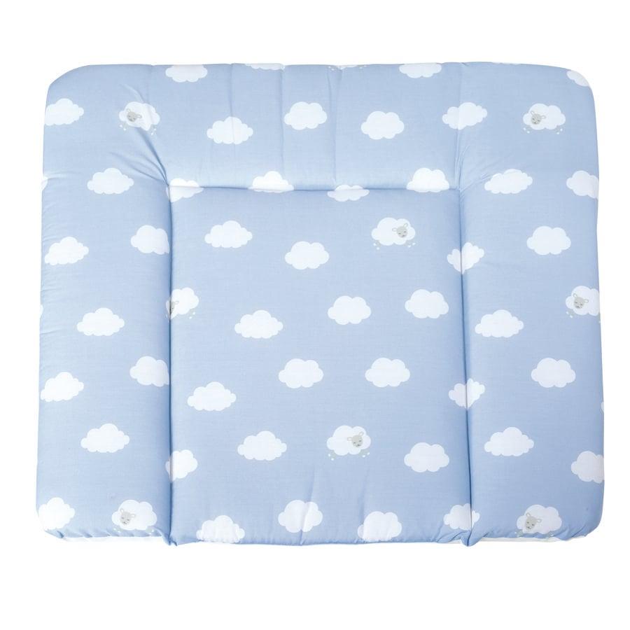 roba Przewijak soft Chmurki niebieski 85 x 75 cm