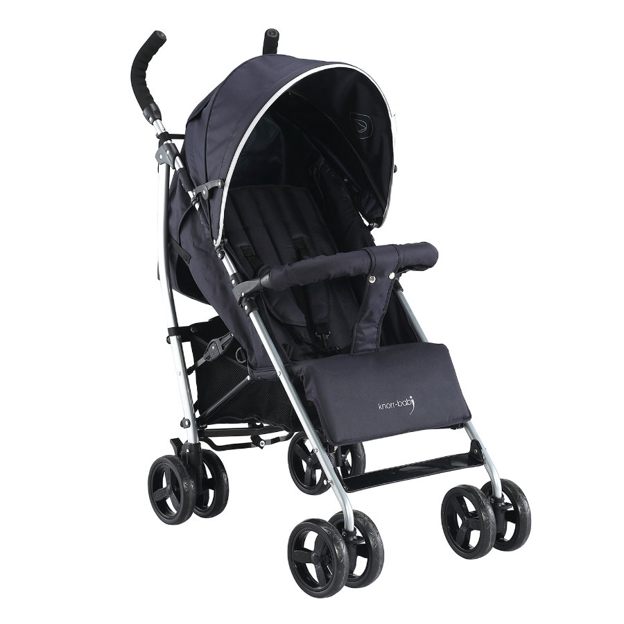 knorr-baby Buggy Styler Happy Colour zwart