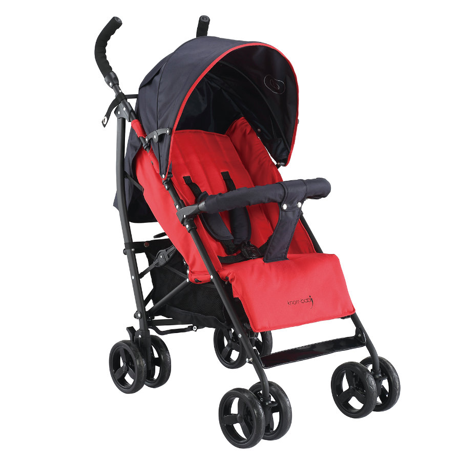 knorr-baby Buggy Styler Happy Colour rot