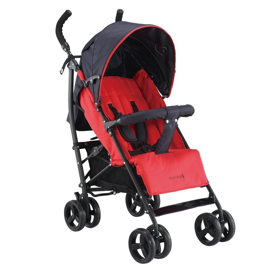 knorr-baby Passeggino leggero Styler Happy Colour rosso