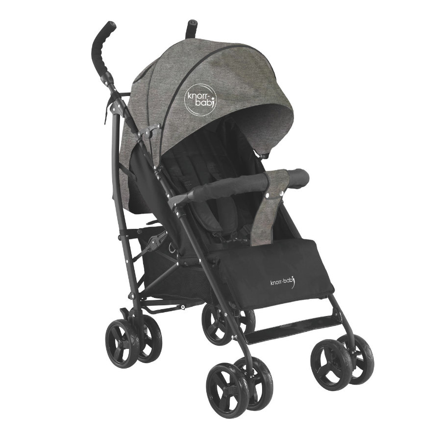 knorr-baby Poussette-canne Styler mélange gris