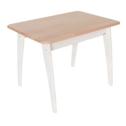 Geuther mesa para ni os bambino blanco madera - Mesas madera ninos ...