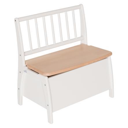 Geuther Panca Bambino bianco/legno naturale