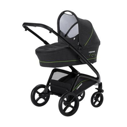 knorr-baby Kombi-Kinderwagen HEAD darkgrey-green